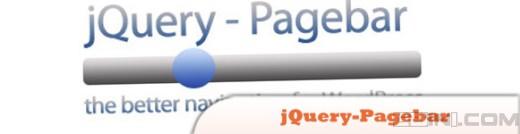 jquery-pagebar wordpress jquery plugin