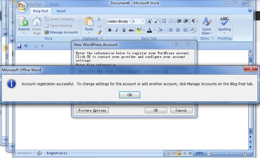 Wordpress 使用 office word 离线发布文章-步骤六